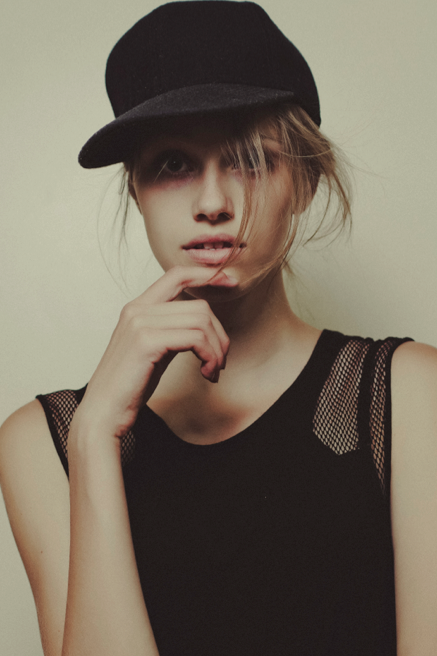 karen @newyorkmodels photographed by billy rood