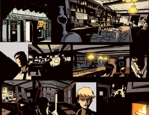 why mike oeming is a perfect storyteller.  Powers scene.