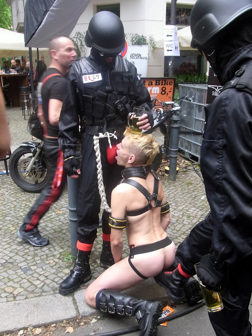 prolapse2fuck: Seen at Folsom Berlin September 2011 - not me!