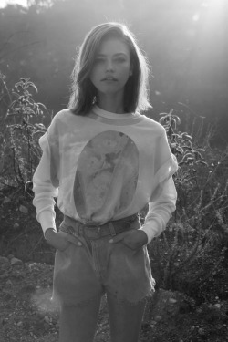 senyahearts:  Model: Daria Pleggenkuhle for Wildfox Pre-Fall 2013