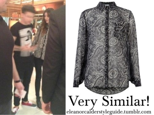 New Look is selling a really similar blouse to the one Eleanor owns from Zara! You can buy it here!