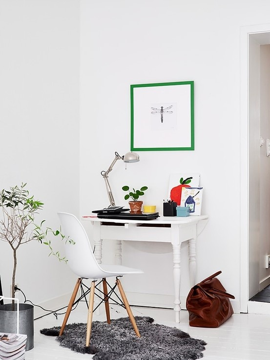 myidealhome:   something green (via Nordic & Scandinavian)
