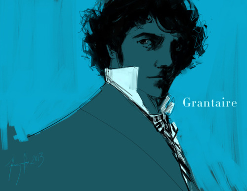 huyhoillustration:  Grantaire Mood Music: (x)