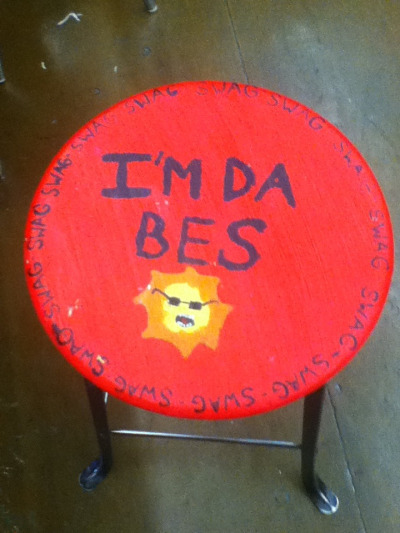 slenclerman:  the stools at my school