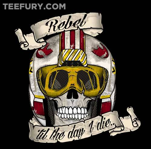 gamefreaksnz:  Rebel 'til The End by RebelArt US $11 for 24 hours only Artist: Facebook | Redbubble | Tumblr