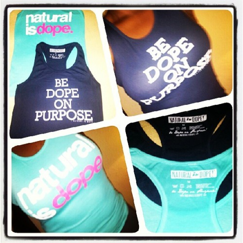 My #NaturalisDope tanks arrived today! Love them can't wait to flex at the beach! #Naturalhair #BeDopeonPurpose #TheMotto @natural_is_dope thank you!! (at Florida Home)