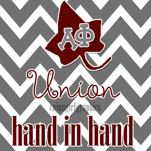 cajungirlgraphics:  Alpha Phi's Motto