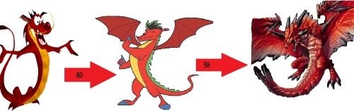 Dragon demonio <3