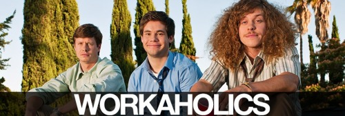 "nailpolishdistraction:  ""Workaholics"" Nails."