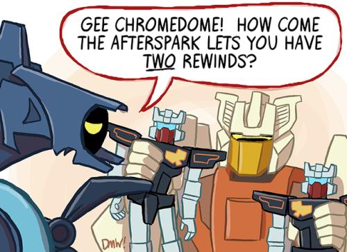lost light transformers mtmte chromedome rewind