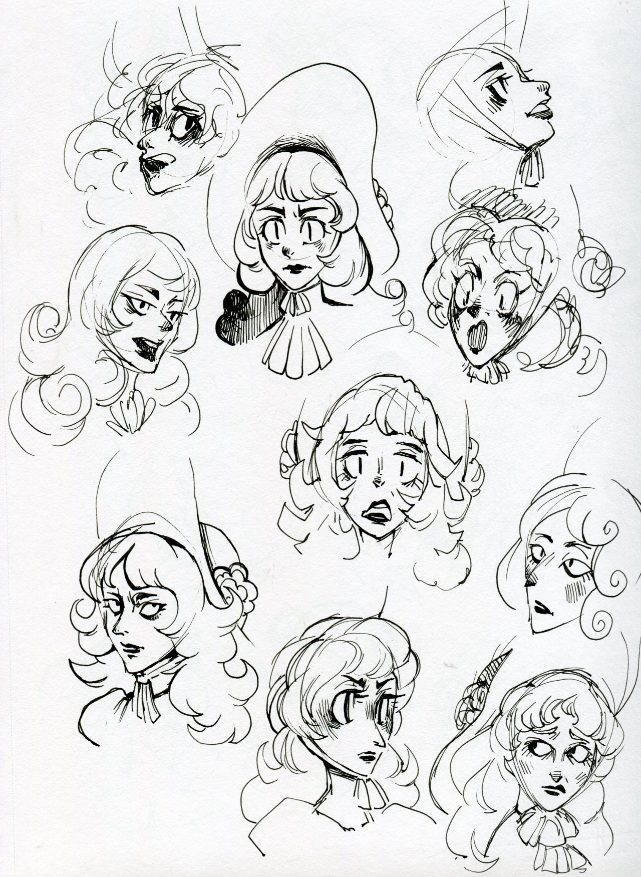 whatev chanterelle doodles