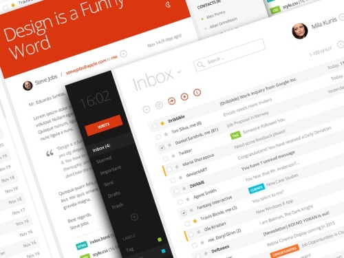 Beautiful and Modern UX/UI Designs  found at fromupnorth.com