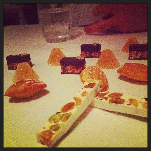 Petit fours (at Rockpool)