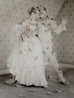 Laura McCone and Luke Cartwright by Tim Walker for Casa Vogue