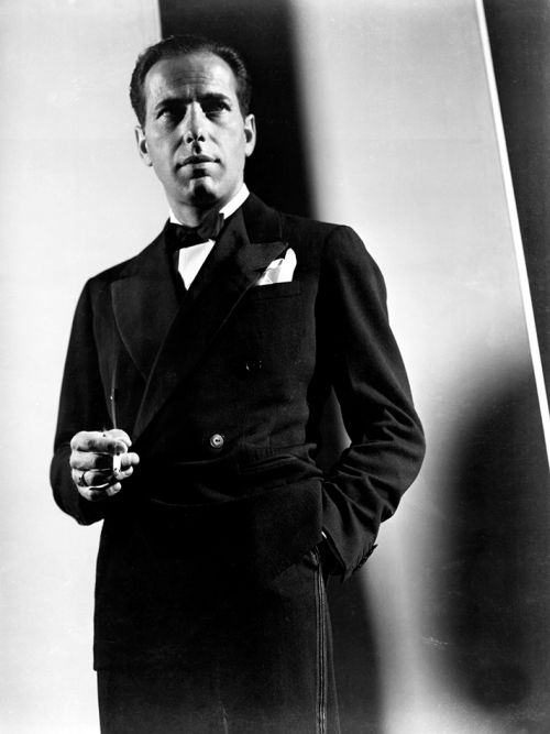 voxsart:  Double It Up. Humphrey Bogart.