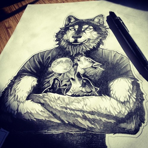 timshumateillustrations:  Original sketch. $400. E-mail me at telegrafixs@yahoo.com if you are interested.