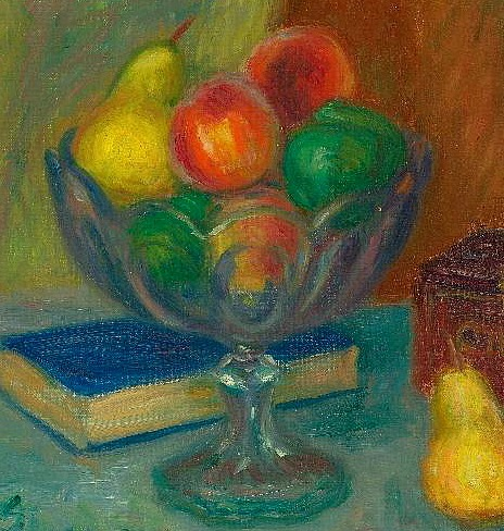 William James Glackens Still Life with Japan Box, detail Late 19th - early 20th century