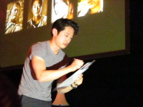 LOOK HOW CLOSE ME & MOOSE GOT TO STEVE YEUN
