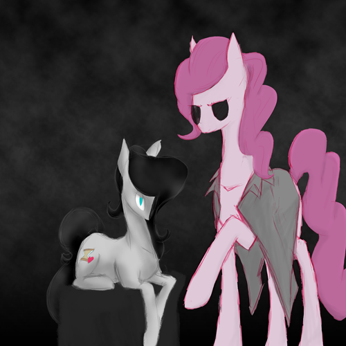 Round 3 of follower appreciation, this one is for Pinkie DIE and Sexy Whooves, two more Equestrians! Pinkie Die is running a story right now, solidly cartoony in style and certainly worth investigating. In turn, Ms. Whooves is quite affluent when it comes to doodling and activity, which I simply have to endorse, being the doodler that I am. (Also, I am an idiot and forgot your wings.) Make sure to check them out! ((There was a bit of flopping interaction between the layers and background, so it comes down to being little more than a semi-acceptable ambiance. The rest looks decent enough, though.))