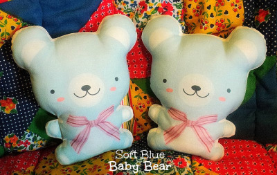 Soft Blue Baby Bear ♥ by Rosy´s Page ♥ micasita house™ on Flickr.