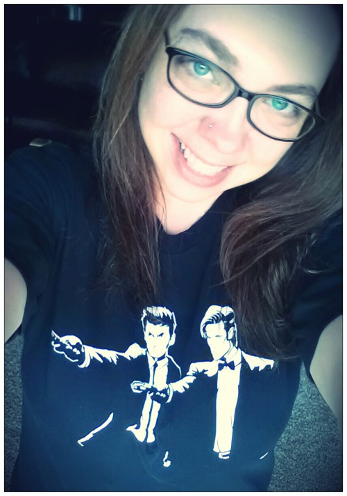 suburbanstar:  Me today, 04/28/13. Wearing my 2 Doctors shirt from Teefury