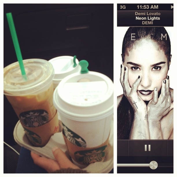 Starbucks runs & DEMI
