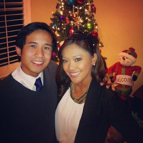 Merry Christmas from Anthony and Arielle! Wishing you all a blessed holiday season! Don't forget to wish Jesus a happy birthday.. He's the reason for this season! 🙏🎄🎅🎉🎁