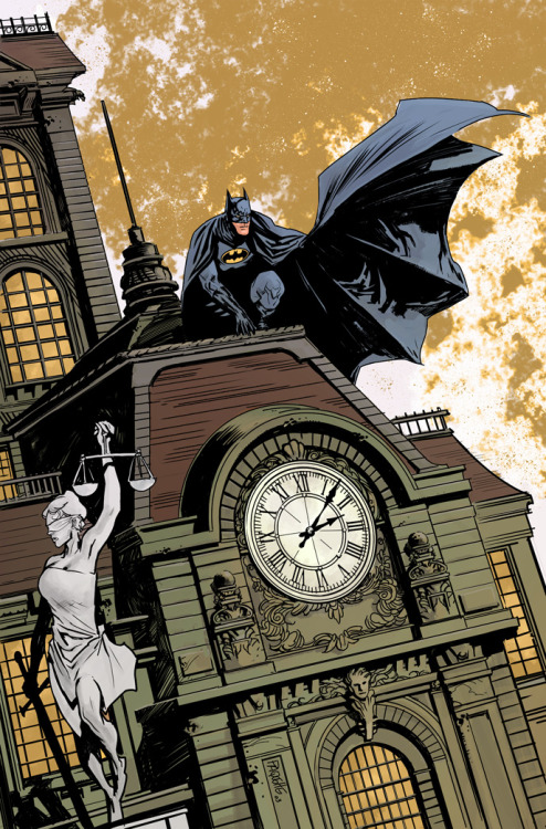 Batman: Gotham Nights // artwork by Yanick Paquette (2012)