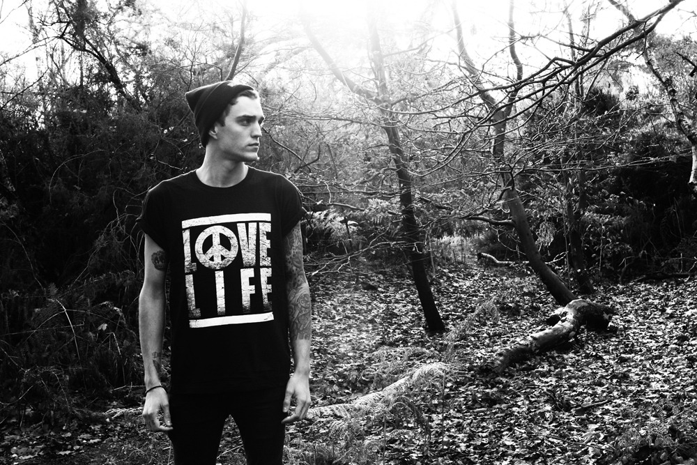 'Love Life' - Available in black or white in our January sale now.Click the image to visit the store.