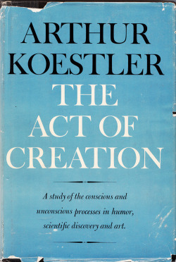 "How Creativity in Humor, Art, and Science Works: Arthur Koestler's Theory of Bisociation Maria Popova, brainpickings.org ""The discoveries of yesterday are the truisms of tomorrow, because we can add to our knowledge but cannot subtract from it.""At a recent TED salon, New Yorker cartoon editor Bob Mankoff presented his theory of humor as ""a conflict of…"