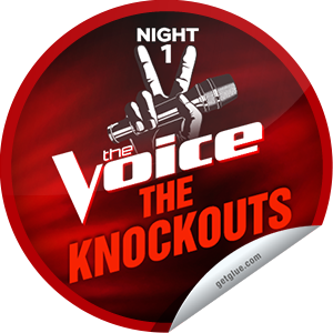 I just unlocked the The Voice Season 4: The Knockouts Night 1 sticker on GetGlue                      6081 others have also unlocked the The Voice Season 4: The Knockouts Night 1 sticker on GetGlue.com                  It's night 1 of the Knockout rounds! Who has thrown the best punch? Thanks for tuning into The Voice tonight! Keep watching on Mondays and Tuesdays at 8/7c on NBC. Share this one proudly. It's from our friends at NBC.