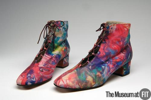 omgthatdress:  Boots David Evins, 1970 The Museum at FIT
