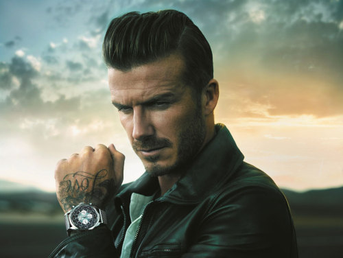 visualcocaine:  Beckham for Breitling.   Dreamy!