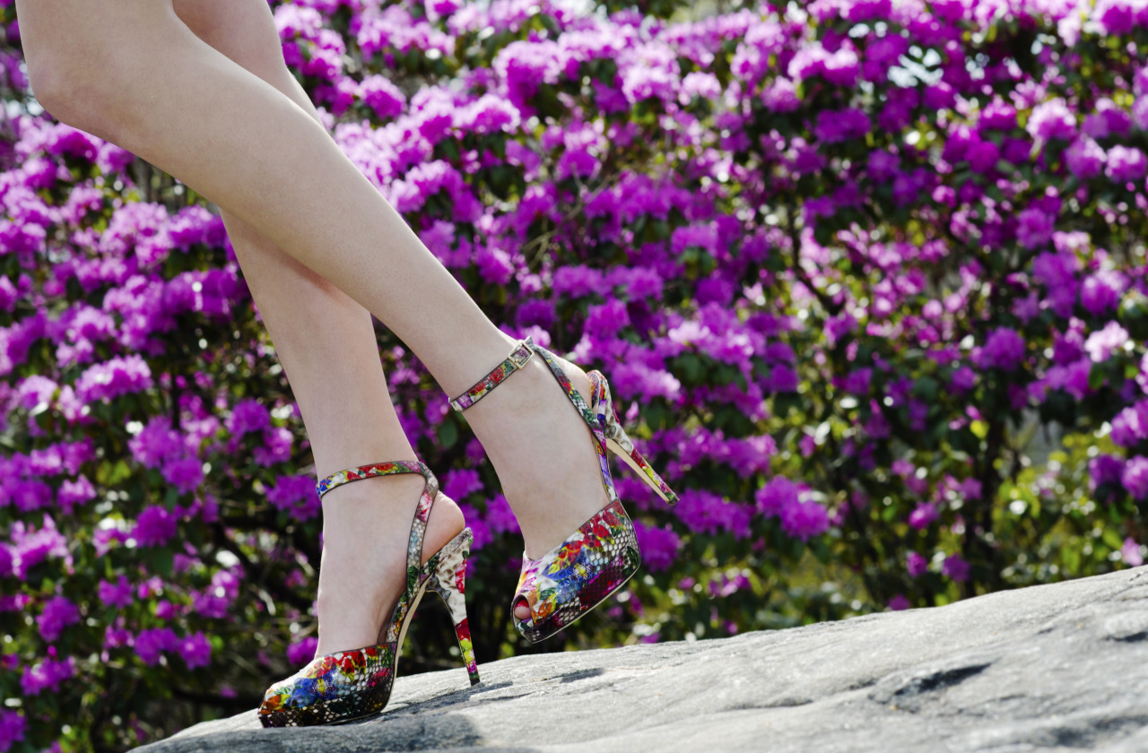 Inspired by nature, Jimmy Choo.