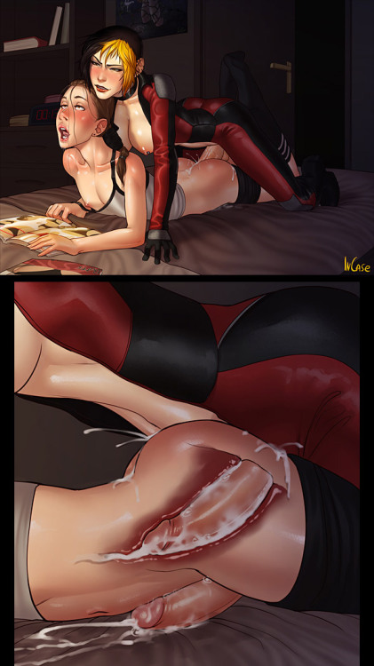 futanariobsession:  Surprise Buttsex by InCase See more shemale and futanari hentai at Futanari Obsession.com