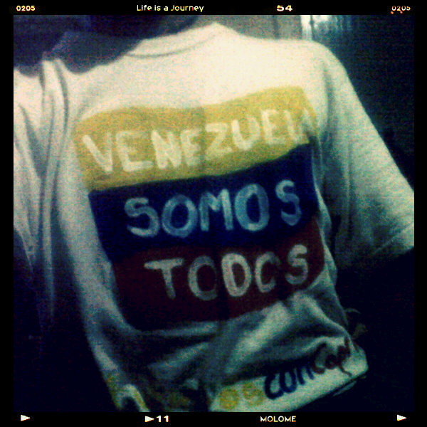 #JuntosConCapriles #VenezuelaSomosTodos (Photo taken and uploaded via MOLOME )