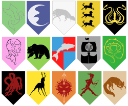 what-is-dead-may-never-die:  Check out these GOT/ASOIAF Sigils my girlfriend made for me a while back have some gameofthrones