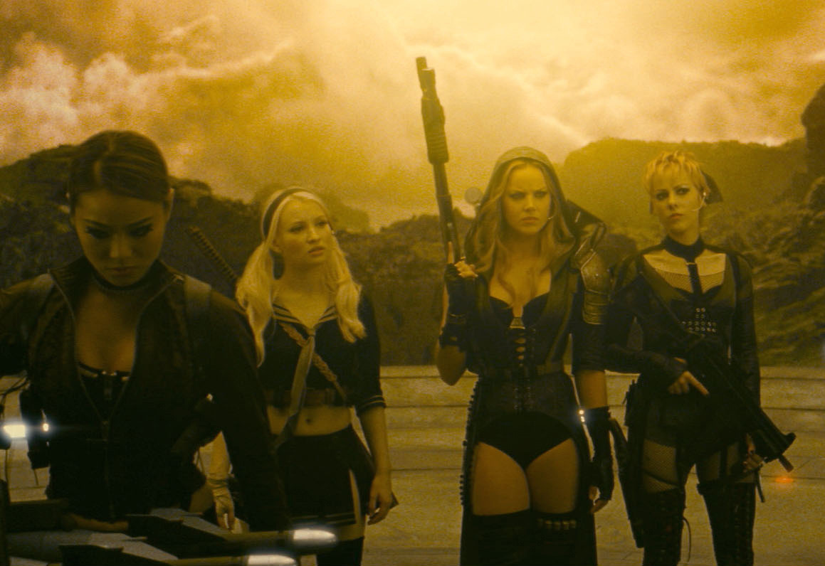 Jamie Chung, Emily Browning, Abbie Cornish and Jena Malone in Sucker Punch