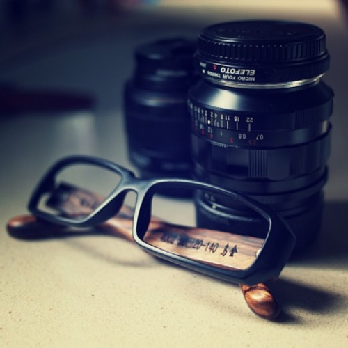 Frame and lenses