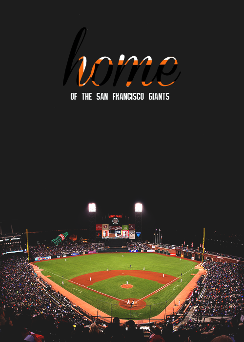 AT&T Park → Home of the San Francisco Giants