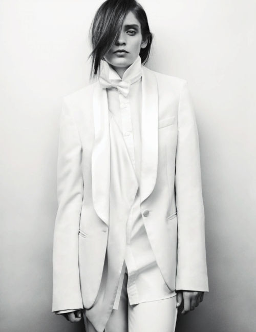 tuxedo rules | heidi mount | david slijper | elle uk