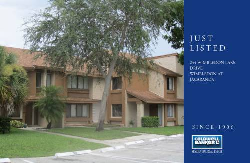 Just Listed this beautiful condo/townhouse in Plantation, Florida. For more information please contact me directly at 561.542.1359.