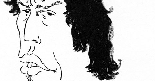 """""""… you might mistake him for an older brother of Mick Jagger…"""" — Kenneth Tynan on Tom Stoppard. But you probably wouldn't, be honest. newyorker:  Read Kenneth Tynan's classic 1977 Profile of the playwright Tom Stoppard: http://nyr.kr/1tXSqGM  """"Because Stoppard has a loose, lanky build, a loose thatch of curly dark hair, loose, liver-tinted lips, dark, flashing eyes, and long, flashing teeth, you might mistake him for an older brother of Mick Jagger, more intellectually inclined than his frenetic sibling."""""""