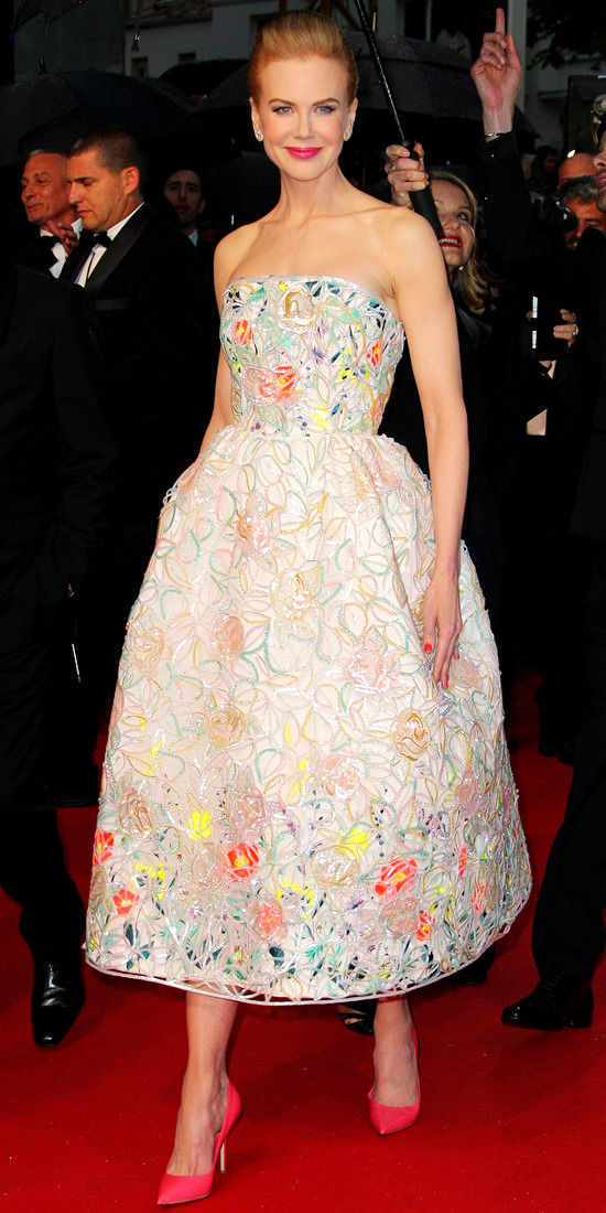 Nicole Kidman in Dior Haute Couture at the Cannes Film Festival Opening Ceremony
