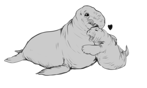 You seal up the hole in my heart…I promise that joke is relephant.