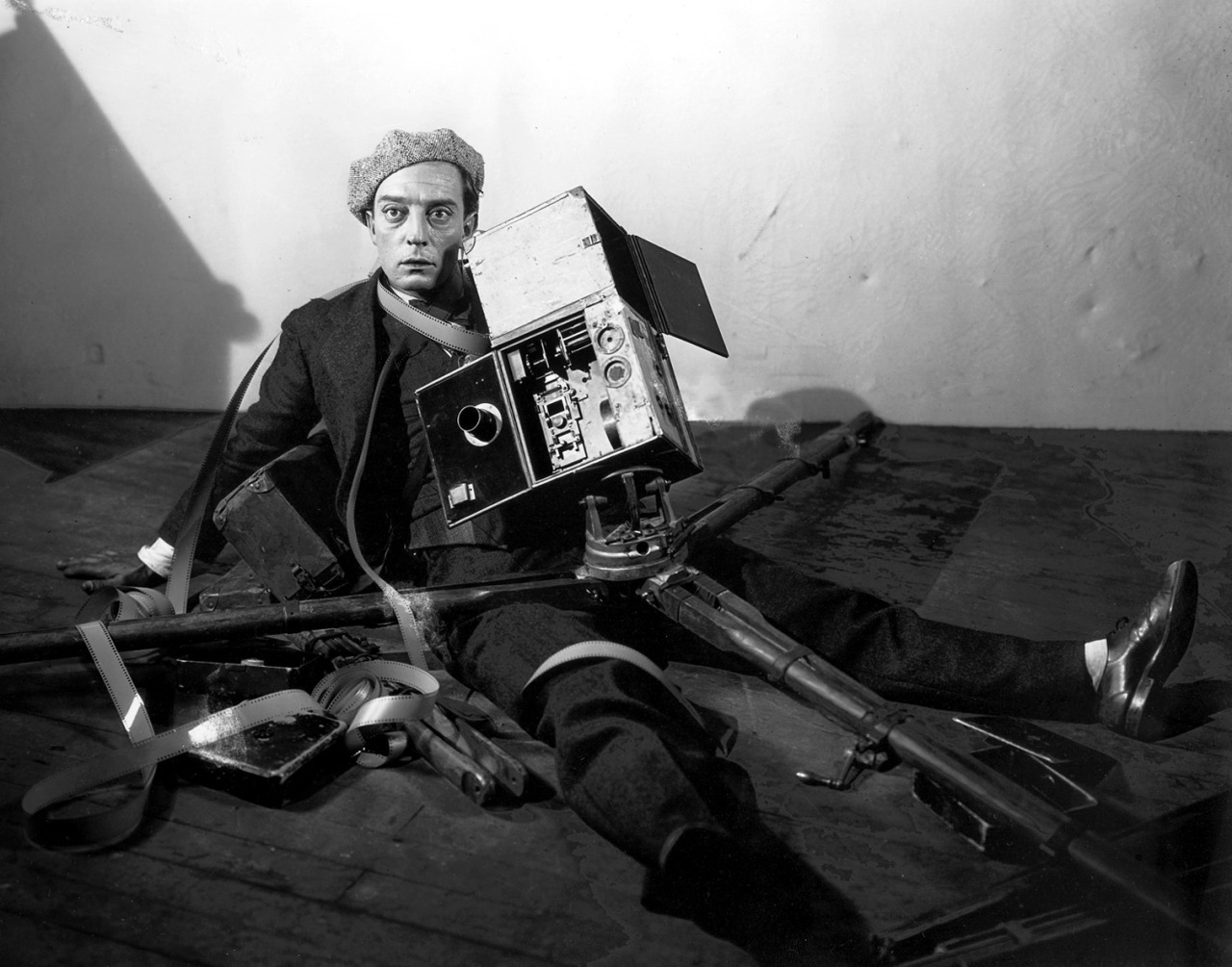 Buster Keaton, The Cameraman, 1928.