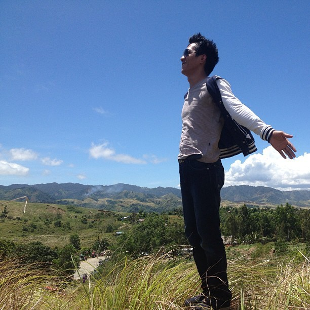 Feel the breeze in the top of  Sierra Madre Mountains, boundary of Gabaldon and Dingalan