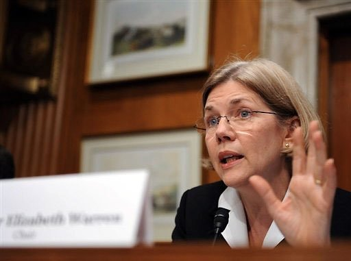stfuconservatives:  smdxn:  Eliz. Warren wants to cut student interest rates to near zero  Senator Elizabeth Warren (D-MA) has introduced her first piece of legislation. It's called the Bank on Students Loan Fairness Act, and would reduce the rate students pay on federally-subsidized student loans for one year, from 3.4% to 0.75%. Without congressional action, on July 1 the rate is set to double from 3.4% to 6.8%. Warren brings up an interesting point – her bill simply asks students to pay the same rates that big banks pay for borrowing.   She's literally just asking if college grads can get the same deal as bank CEOs. The exact same interest rate. Not even a bailout or anything fancy (pipe dreams!) - just the same interest rate.