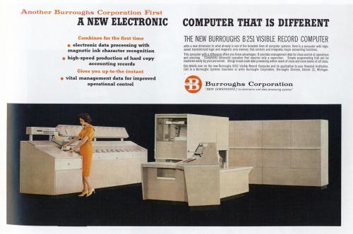 Burroughs B251 - 1959 The ten euro computer