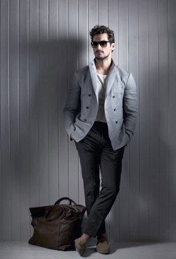 mensfashionworld:  David Gandy for The Sunday Telegraph